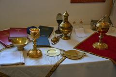 Výstava bohoslužebných předmětů