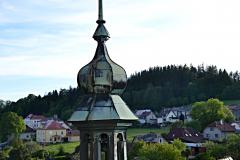 Pohled z věže kostela